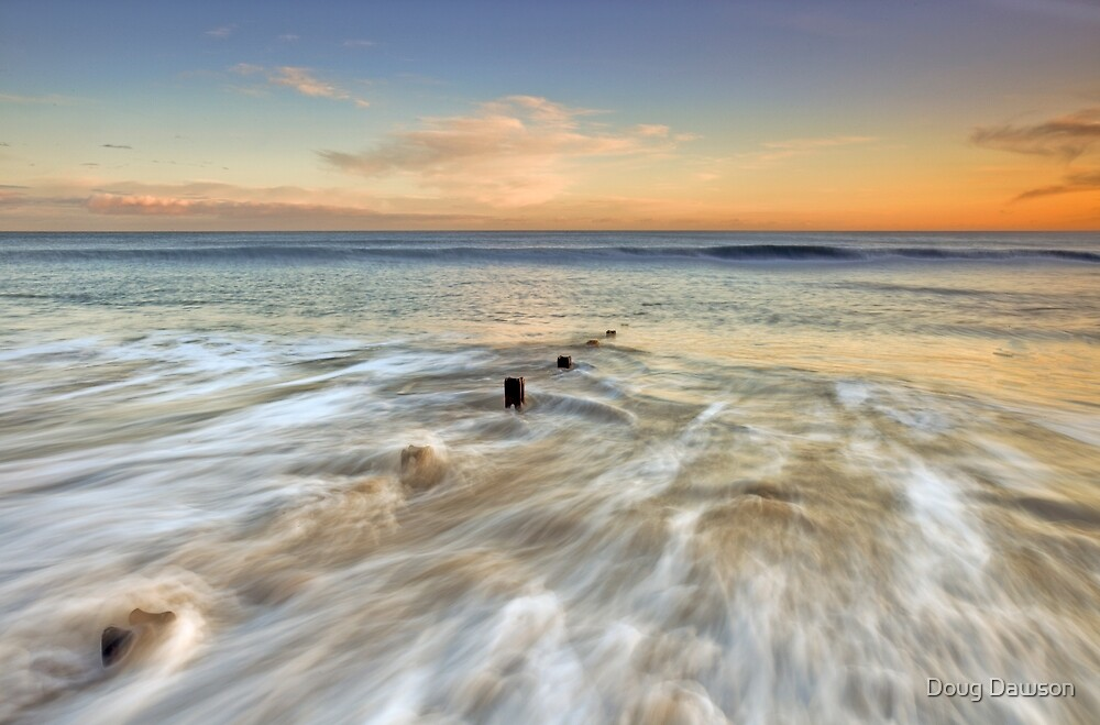 Seaham Sunrise by Doug Dawson