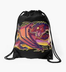Smaug the terrible Drawstring Bag