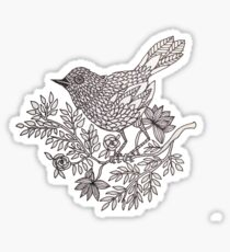 Perching Bird Sticker