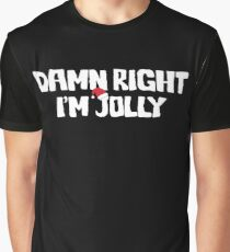 Jolly Christmas Curmudgeon Graphic T-Shirt