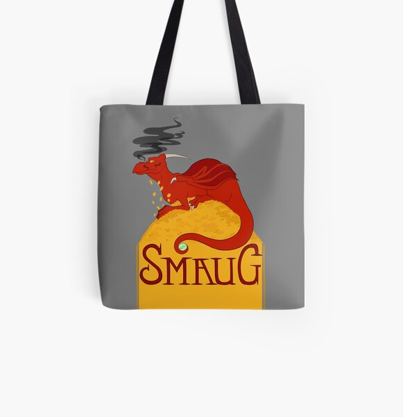 Smaug All Over Print Tote Bag