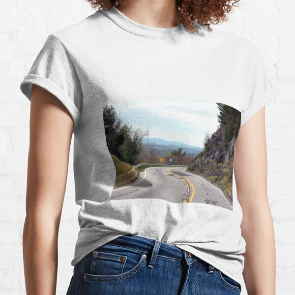 A Road in the Mountains Classic T-Shirt