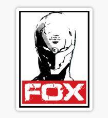 The Fox 02 Sticker