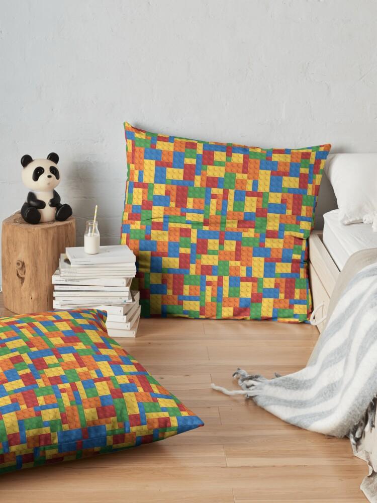 Alternate view of LegoLove Floor Pillow
