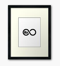 War of the Infinite Framed Print