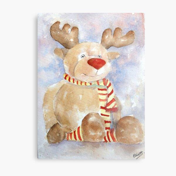 Rudy Reindeer Metal Print