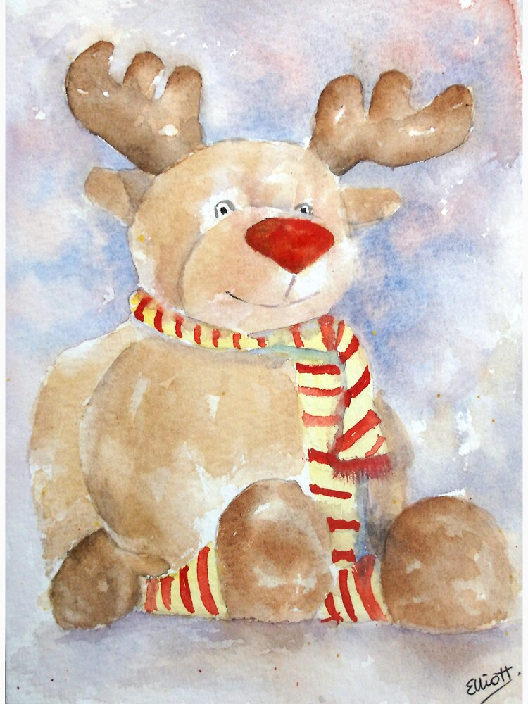 Rudy Reindeer by PatEll