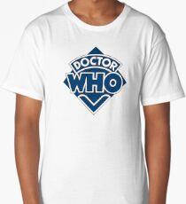 Doctor Who Classic Logo Long T-Shirt
