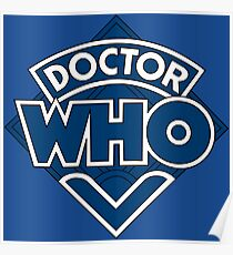 Doctor Who Classic Logo Poster
