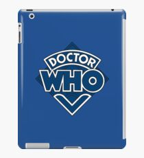 Doctor Who Classic Logo iPad Case/Skin