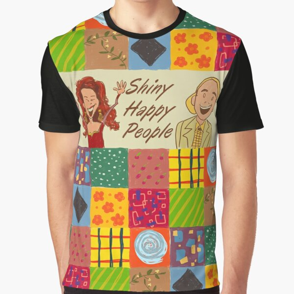 Shiny Happy People Graphic T-Shirt
