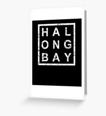 Stylish Ha Long Bay Greeting Card