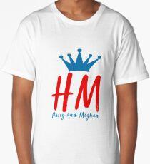 Harry & Meghan, the Royal Wedding 2018 Long T-Shirt