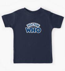 Classic Doctor Who Book Logo Kids Tee