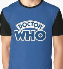 Classic Doctor Who Book Logo Graphic T-Shirt