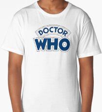 Classic Doctor Who Book Logo Long T-Shirt