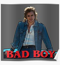Billy from Stranger Things. Bad Boy Poster