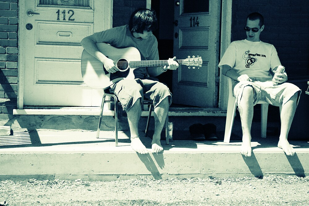 porch song by Kate Wilhelm