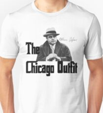 Capone Chicago Outfit Mafia Gangster Godfather Unisex T-Shirt