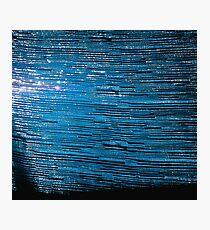Deep Carolina Blue Rush  Photographic Print