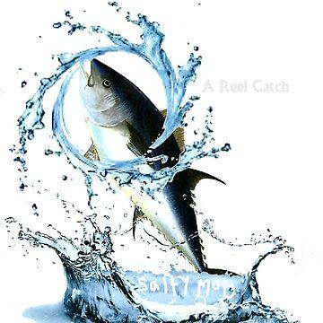Salty Mob A reel Catch wave by SaltyMob