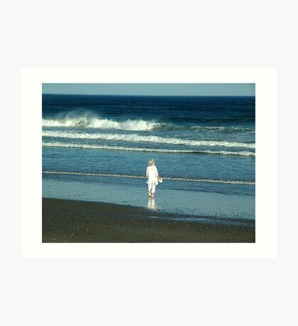 My Beach, My Waves, My Ocean Art Print