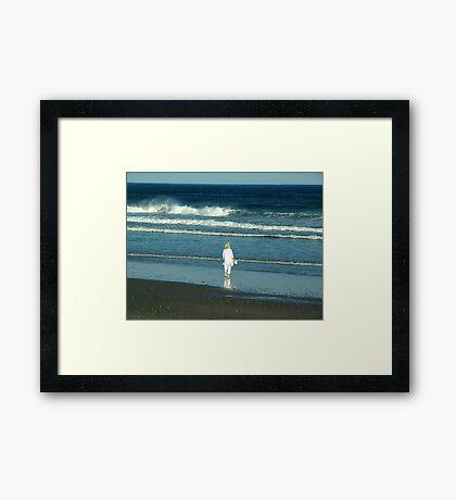 My Beach, My Waves, My Ocean Framed Print