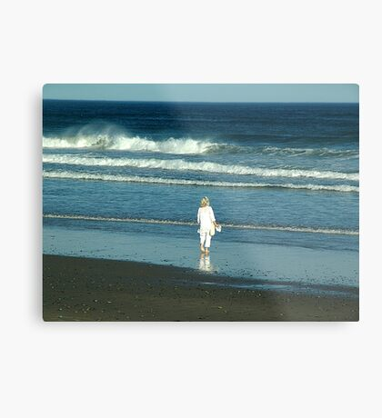 My Beach, My Waves, My Ocean Metal Print