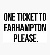 Farhampton Fotodruck