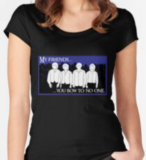 Catharsis Eight: You Bow to No One Women's Fitted Scoop T-Shirt