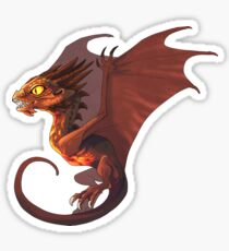Tiny Smaug Sticker