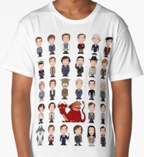 A Field Guide to the Common Cumberbatch (shirt) Long T-Shirt