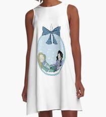 Xmas Monchevy Ball A-Line Dress