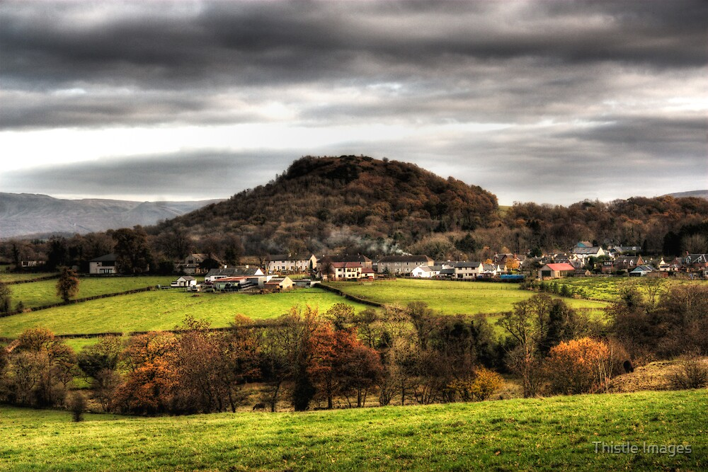 Gartocharn Village by Thistle Images