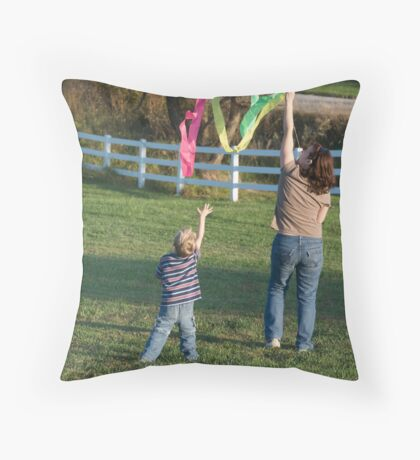 Reach for the Sky Throw Pillow