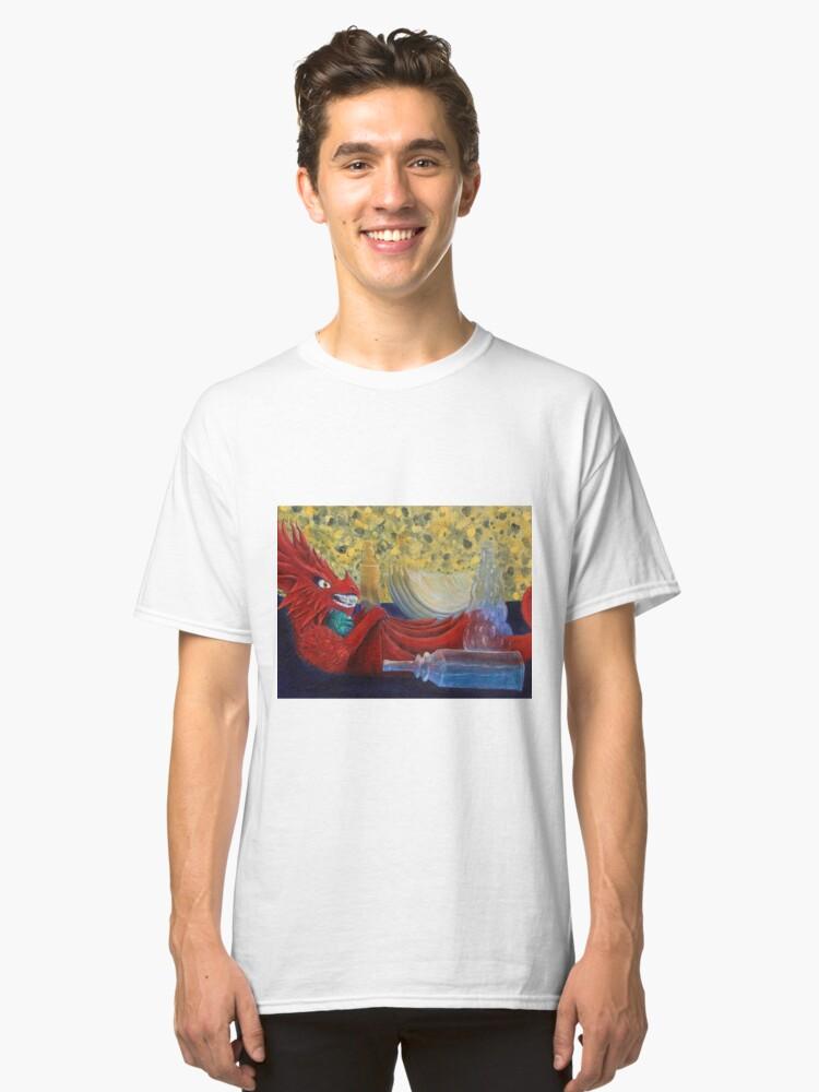 I am Fire. I am Death. Classic T-Shirt Front