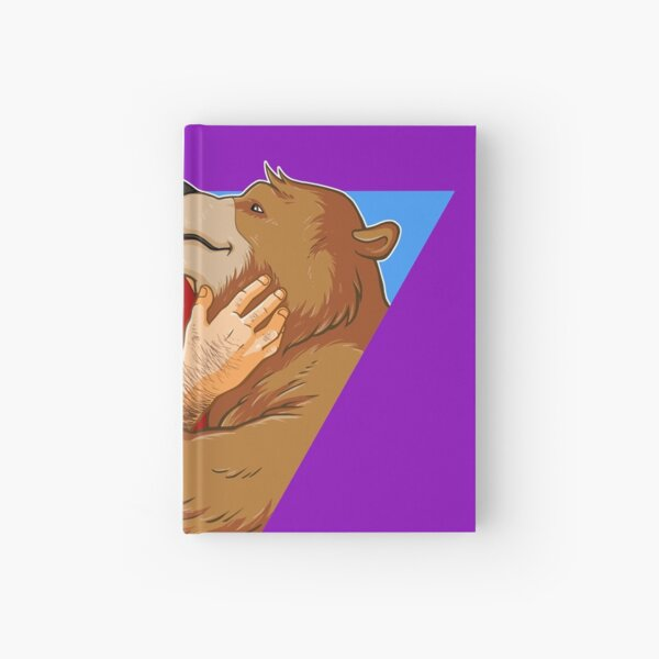 BEAR KISS - TRIANGLE Hardcover Journal