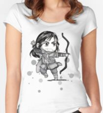 Chibi Kili Women's Fitted Scoop T-Shirt