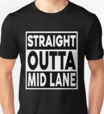 Straight Outta Mid Lane T-Shirt