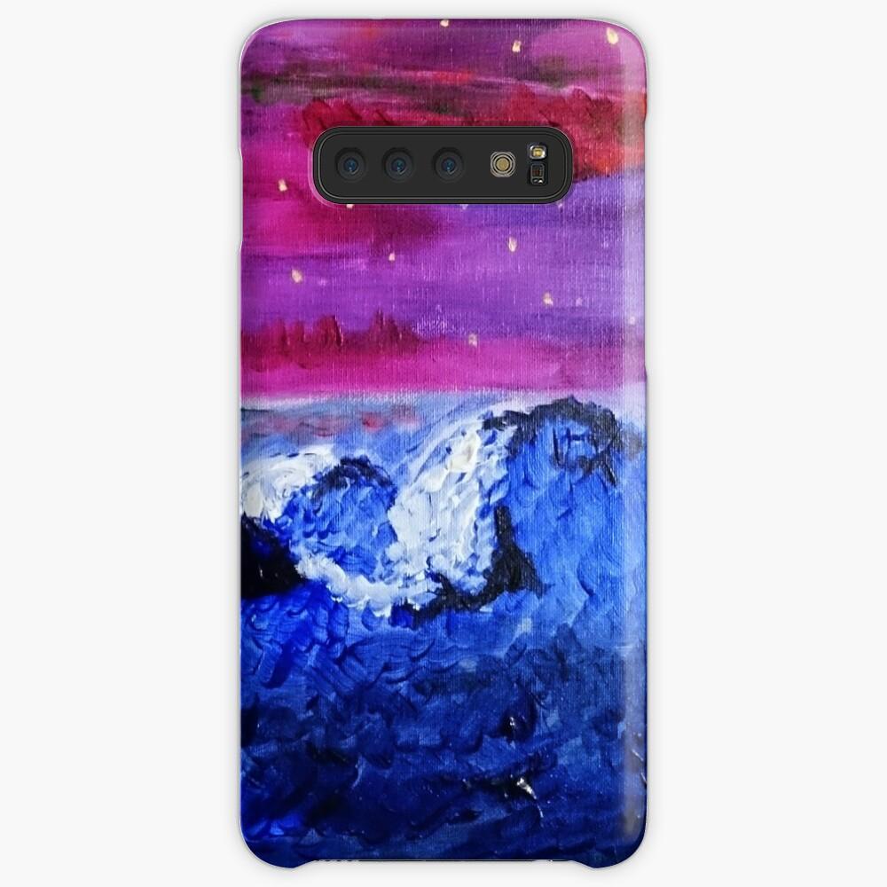 Night landscape Case & Skin for Samsung Galaxy