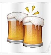 Beer Emoji Poster
