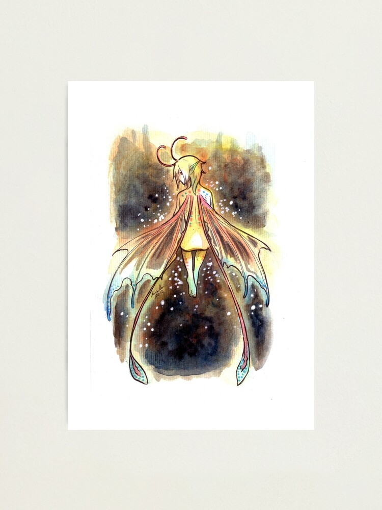Alternate view of The Deep Fairy Photographic Print
