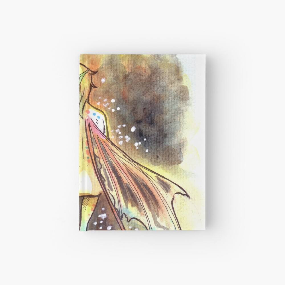 The Deep Fairy Hardcover Journal