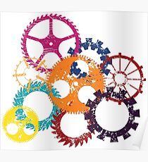 Industrial Wheels 1 Poster