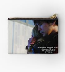 Bellarke - together you & I - The 100 Studio Pouch