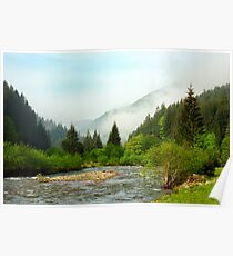 Carpathian Mountains Poster