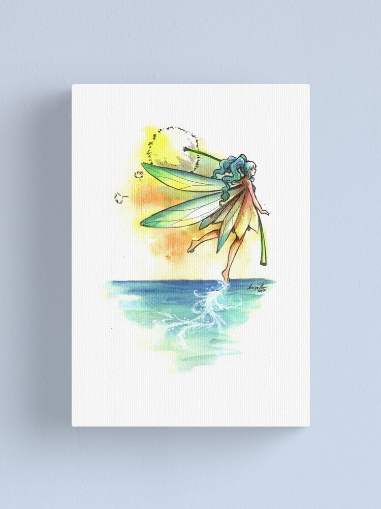 Alternate view of The Trail Fairy Canvas Print