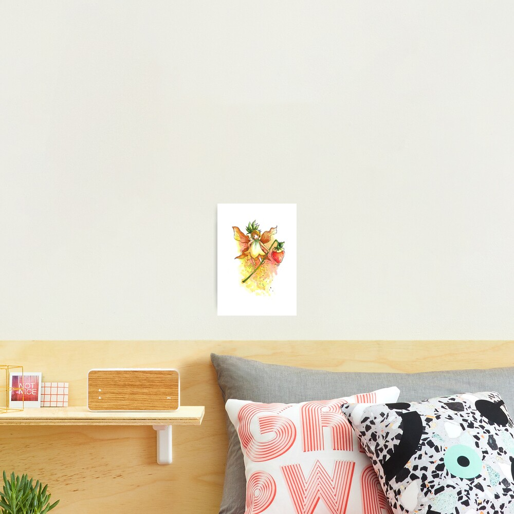 The Juicy Fairy Photographic Print