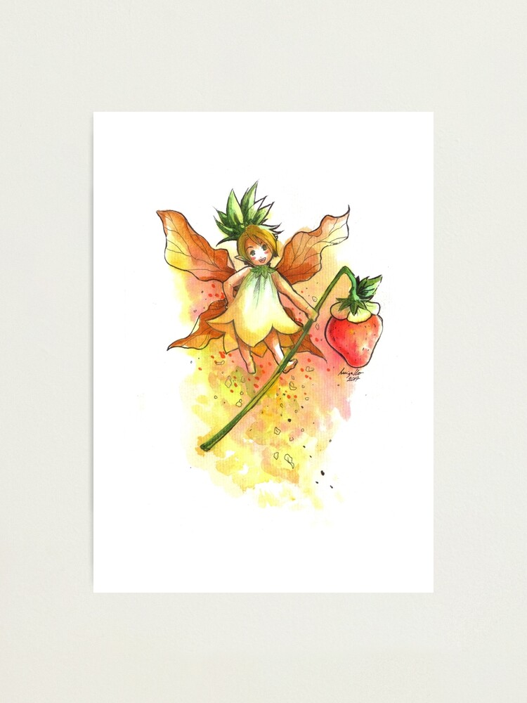 Alternate view of The Juicy Fairy Photographic Print