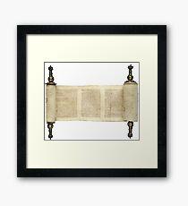 Torah, Torah, Torah! Framed Print
